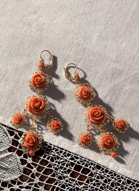 and yellow gabanna with semaine s shop crystals dolce earrings large daisy women gabbana