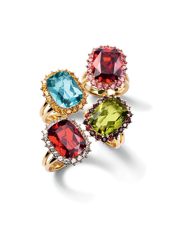 4a61fcfc Gold engagement rings with gemstones by D&G Jewellery | Jewellery  Dolce&Gabbana